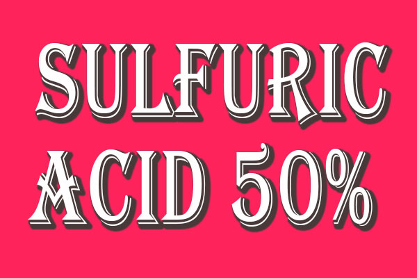 اسید سولفوریک 50