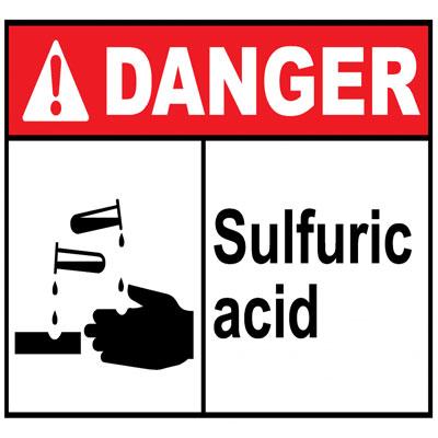 ایمنی اسید سولفوریک