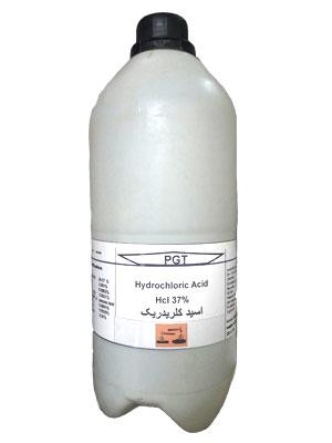 گالن 2.5 لیتری اسید کلریدریک